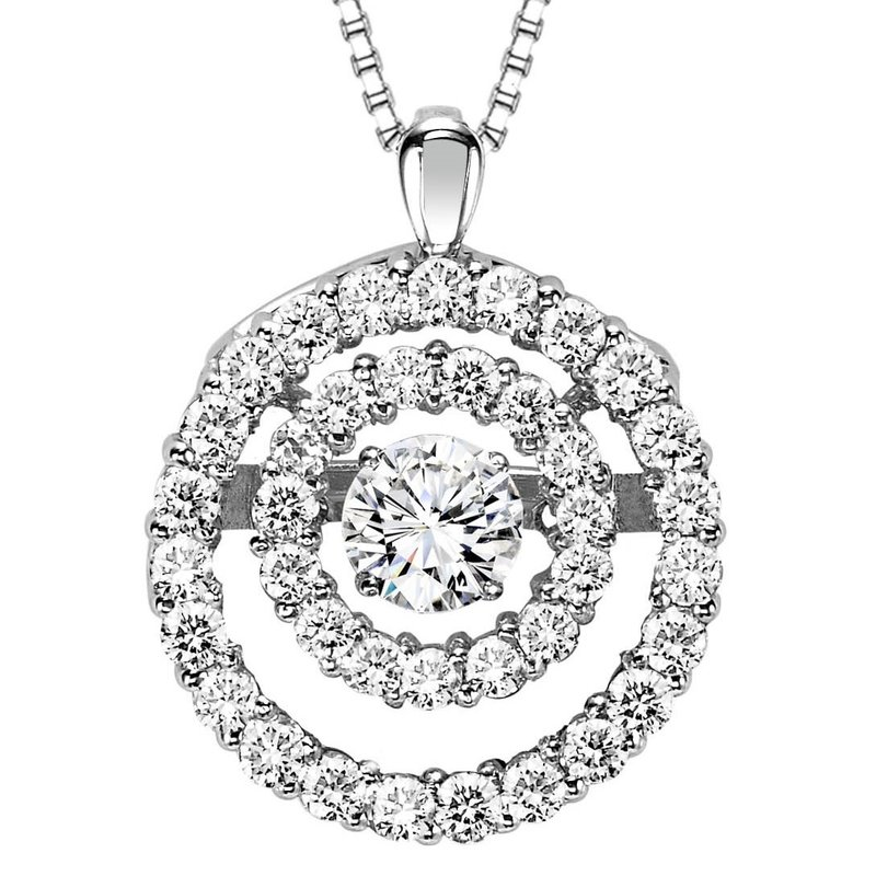 Arizona diamond center rhythm of love 14k diamond rhythm of love rhythm of love 14k diamond rhythm of love pendant 38 ctw aloadofball Images