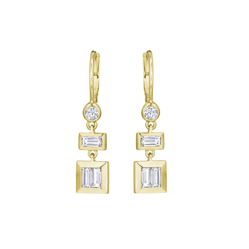 Penny Preville Baguette Drop Earrings
