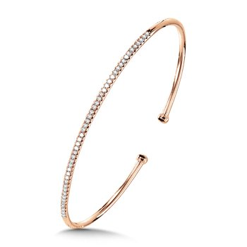 Classic Pave Diamond Bangle