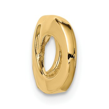 14k Fancy Polished Infinity Figure-8 Slide