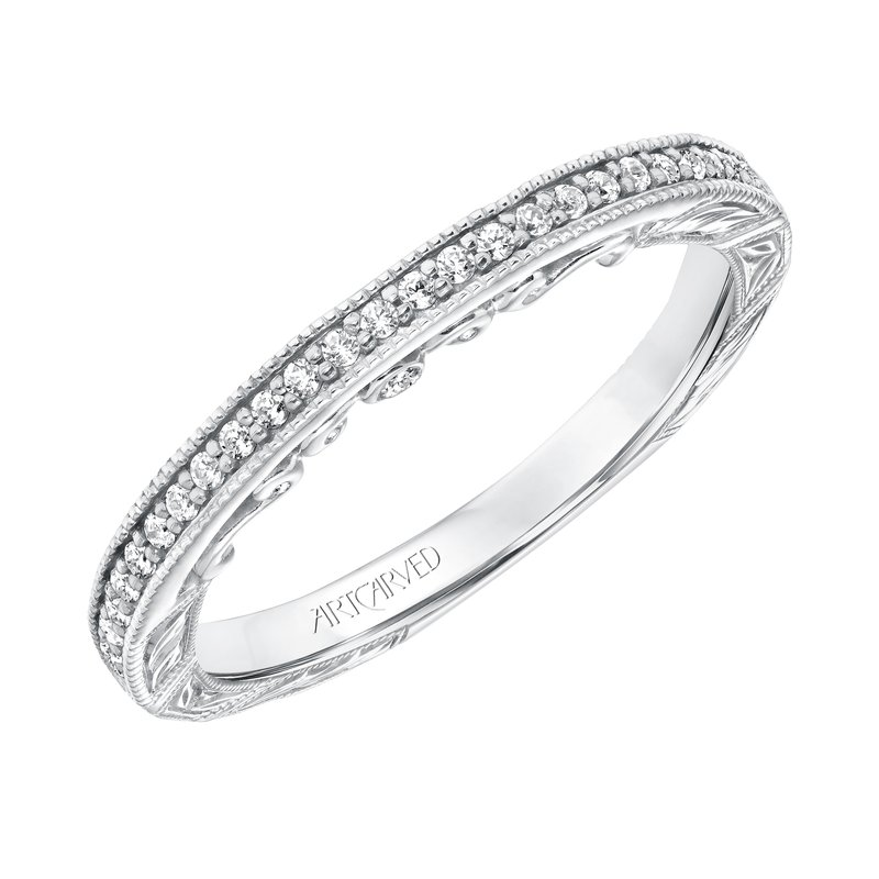 ArtCarved ArtCarved Elspath Wedding Band