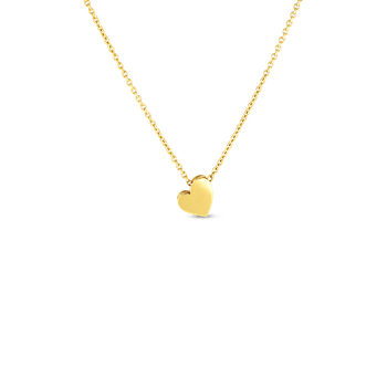 18Kt Gold Princess Heart Amore Necklace