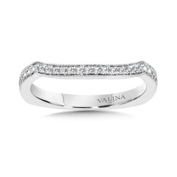 Diamond and 14K White Gold Wedding Ring (0.15 ct. tw.)
