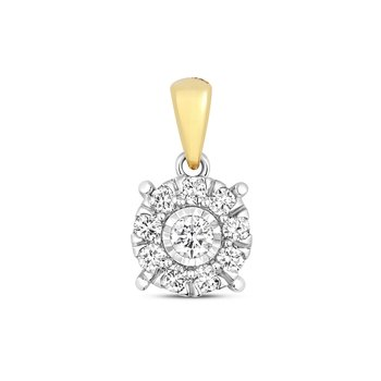 Diamond Brilliant Illusion Pendant