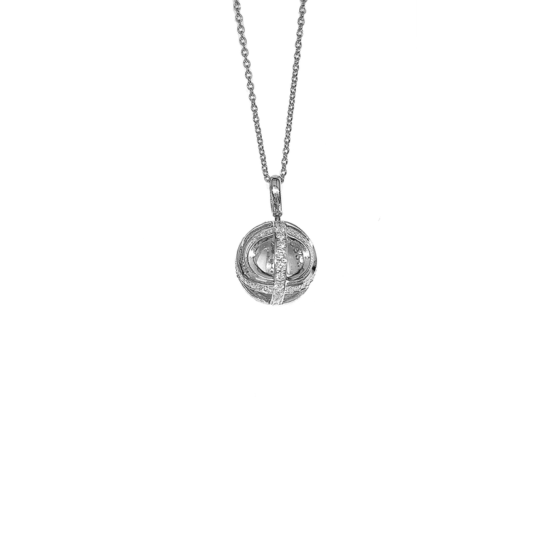 Roberto Coin  #23393 Of Ball Pendant With Diamonds