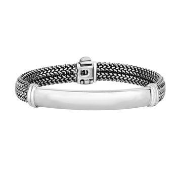 Sterling Silver Tuscan Woven Bracelet