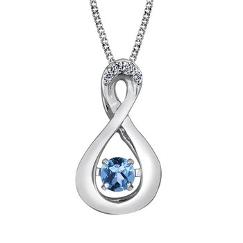 Pulse™ Blue Topaz Pendant