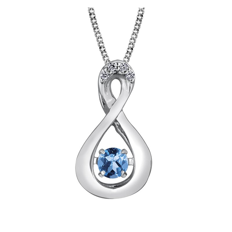 D of D Signature Pulse™ Blue Topaz Pendant