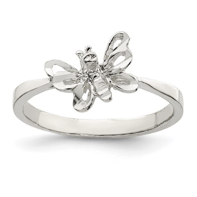 Lester Martin Online Collection Sterling Silver Butterfly Ring