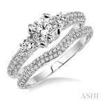Barclay's Signature Collection diamond wedding set