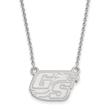 Sterling Silver Georgia Southern University NCAA Necklace