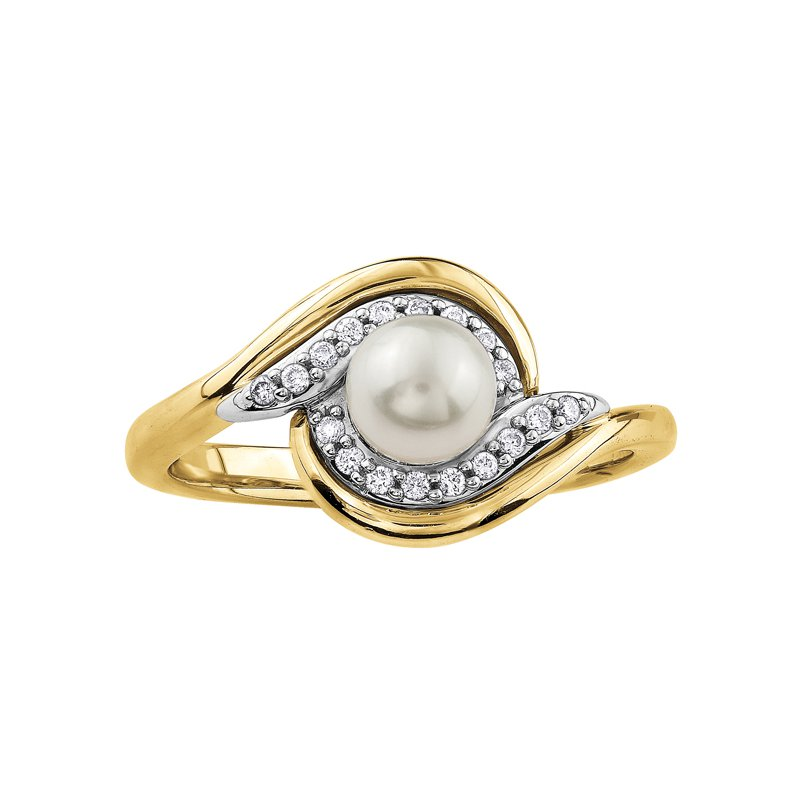 Timeless Beauty Pearls Ladies Ring