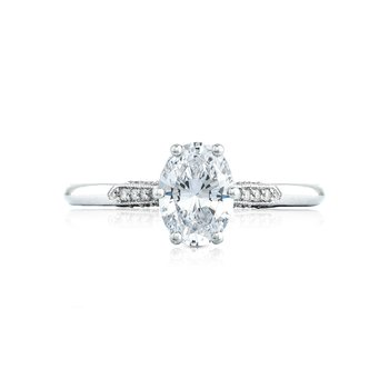 Platinum Simply Tacori Engagement Ring