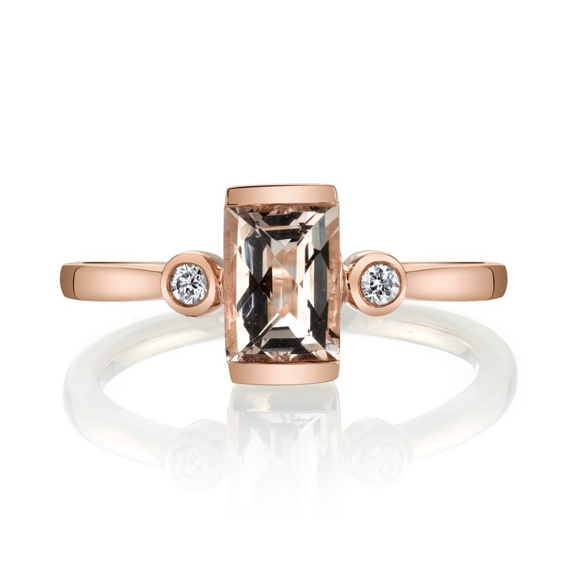 MARS Jewelry MARS 27262 Fashion Ring, 0.06 Dia., 0.72 Morganite