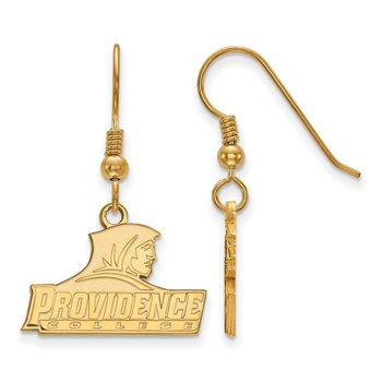 Gold-Plated Sterling Silver Providence College NCAA Earrings