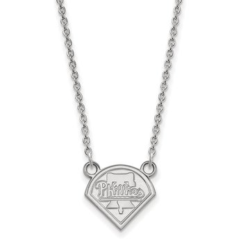 Sterling Silver Philadelphia Phillies MLB Necklace