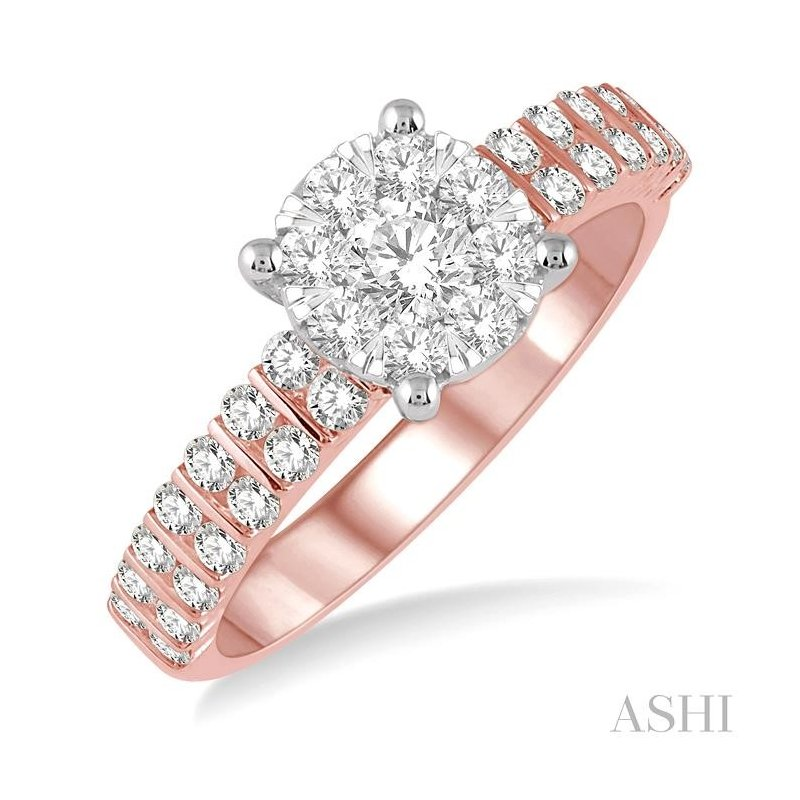 Gemstone Collection lovebright diamond ring