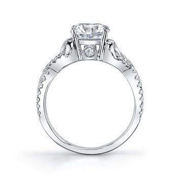 MARS 25720 Diamond Engagement Ring 0.32 ct tw