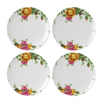 "Old Country Roses Salad Plate 8"" Set/4"