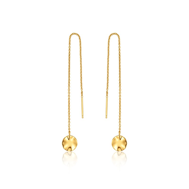 Ania Haie Ripple Threader Earrings