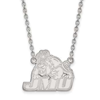 Sterling Silver James Madison University NCAA Necklace