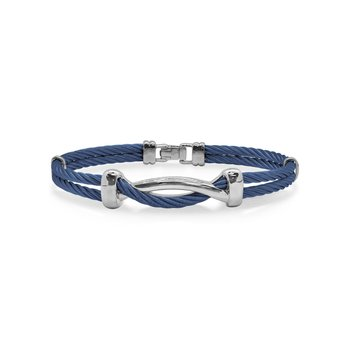 Blueberry Cable Twist Bracelet