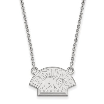 Gold Boston Bruins NHL Necklace