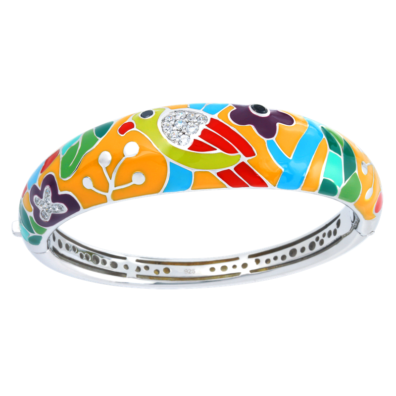 Belle Etoile Perroquet Bangle