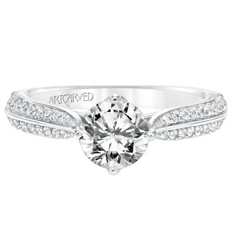 ArtCarved Eloise Diamond Engagement Mounting