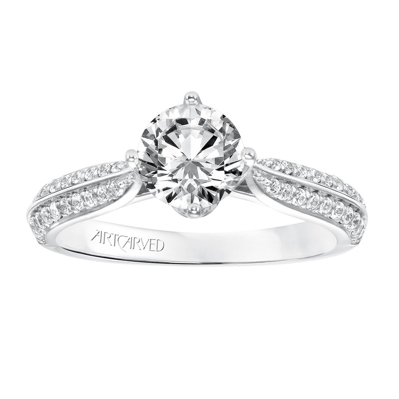 ArtCarved ArtCarved Eloise Diamond Engagement Mounting