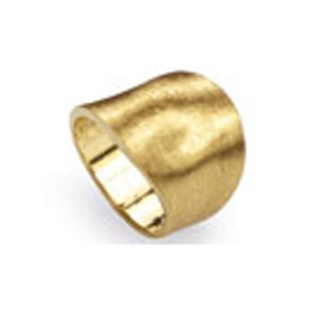 Lunaria Wide Band Ring