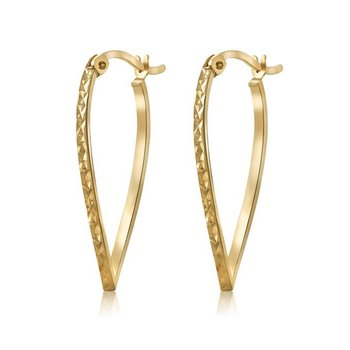 SOLID SILVER, GOLD PLATED, EARRINGS