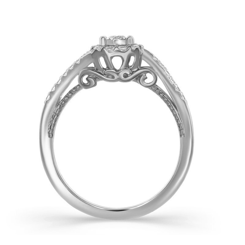Veer Diamonds TAZANNA CARRIAGE RING