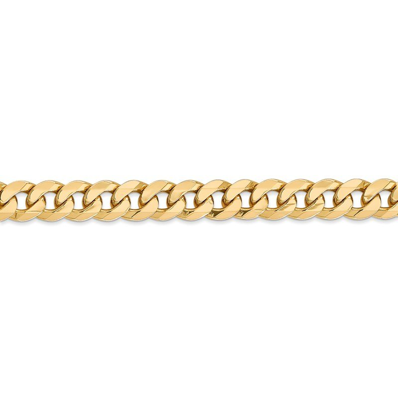 Leslie's Leslie's 14K 8mm Flat Beveled Curb Chain