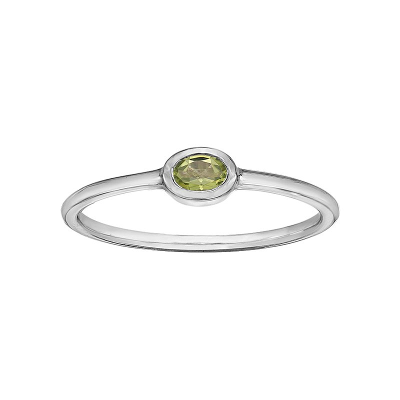 Lasting Treasures™ Peridot Ladies Ring