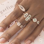 MARS Jewelry MARS 26906 Fashion Ring, 0.33 Dia. 1.62 G Ameth.