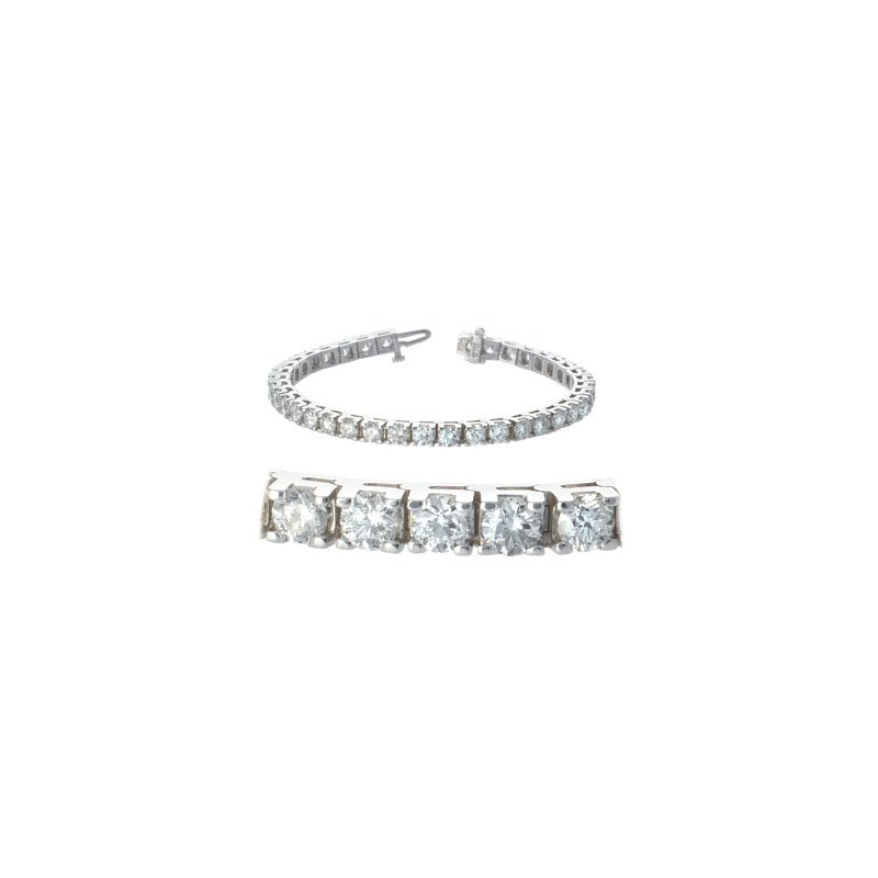 S. Kashi  & Sons Prong Set Tennis Bracelet