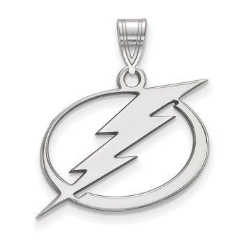 Sterling Silver Tampa Bay Lightning NHL Pendant