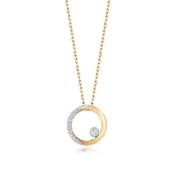 Diamond Necklace Circle