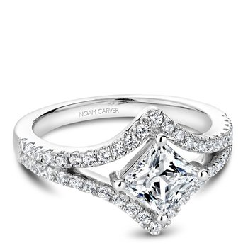 Noam Carver Regal Engagement Ring B209-01A