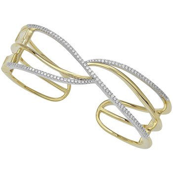 Diamond Fashion Cuff - FDC1238YW