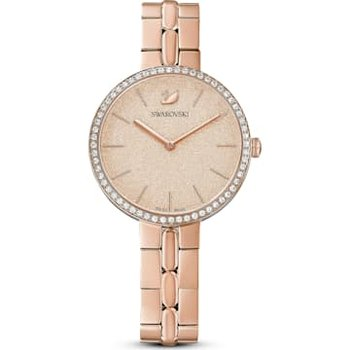 Cosmopolitan Watch, Metal bracelet, Pink, Rose-gold tone PVD