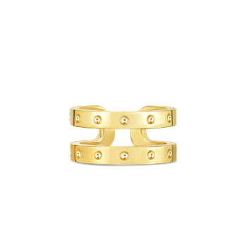 18Kt Gold Double Symphony Pois Moi Ring