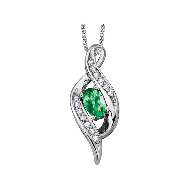 Lasting Treasures™ Emerald Pendant