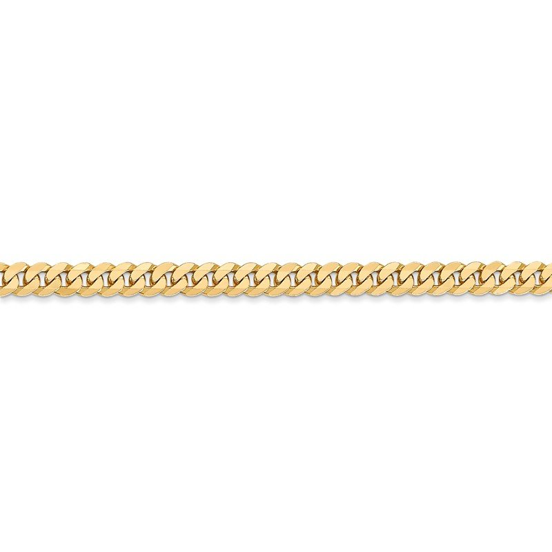 Leslie's Leslie's 14K 3.9mm Flat Beveled Curb Chain