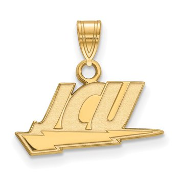 Gold-Plated Sterling Silver John Carroll University NCAA Pendant