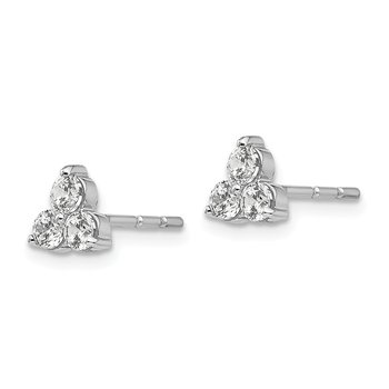 14kw True Origin Lab Grown Diamond VS/SI, D E F, Earrings