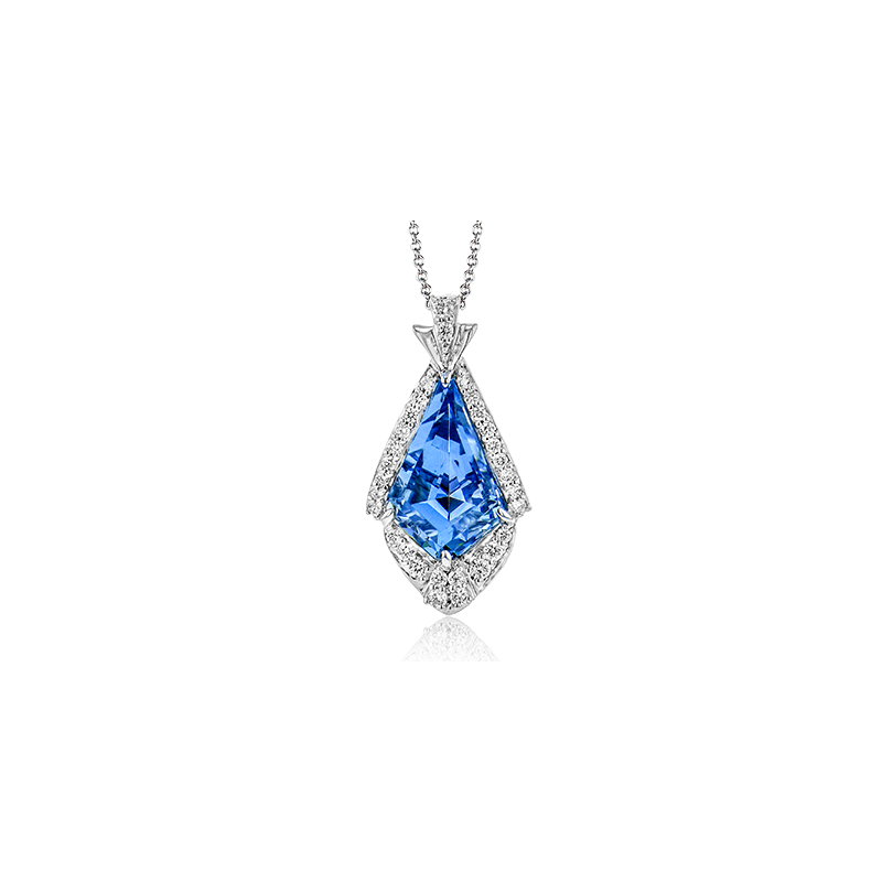 Simon G LP4825 COLOR PENDANT