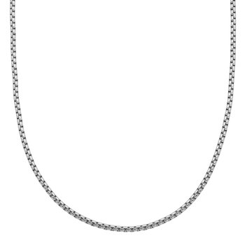 Shiny Round Box Chain 24""