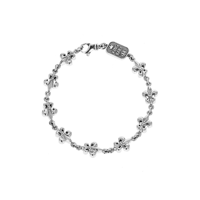 King Baby Large Fdl Chain Bracelet